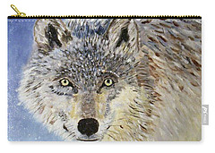 Wolf Study Carry-all Pouch