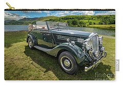 Carry-all Pouch featuring the photograph Wolseley Classic Car by Adrian Evans