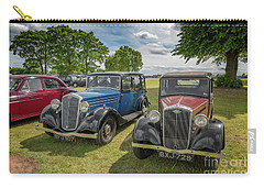 Carry-all Pouch featuring the photograph Wolseley Motors by Adrian Evans