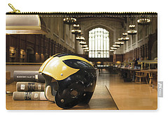 Wolverine Helmet In Law Library Carry-all Pouch