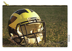 Wolverine Helmet In Morning Sunlight Carry-all Pouch