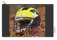 Wolverine Helmet In October Leaves Carry-all Pouch