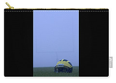 Wolverine Helmet On The Field In Heavy Fog Carry-all Pouch