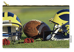 Wolverine Helmets And Roses Carry-all Pouch