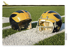 Wolverine Helmets From Different Eras On The Field Carry-all Pouch