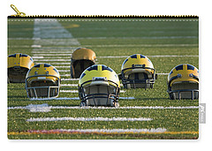 Wolverine Helmets Throughout History On The Field Carry-all Pouch