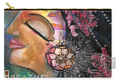 Woman Art Carry-all Pouch