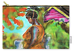Woman At The Well Carry-all Pouch