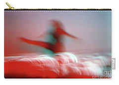 Woman Dancing In Flying Stance Carry-all Pouch