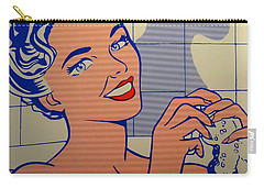 Woman In Bath Carry-all Pouch