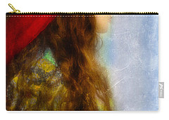 Woman In Medieval Gown Carry-all Pouch