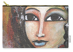 Woman - Indian Carry-all Pouch