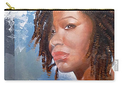 Carry-all Pouch featuring the painting Woman Of Magdala by Christopher Marion Thomas