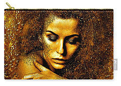 Woman Reborn Carry-all Pouch by Saundra Myles