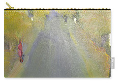 Woman Walking In Evening Carry-all Pouch