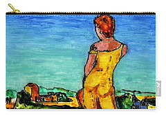 Woman With A Vision Carry-all Pouch