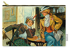 Woman's Club 1899 Carry-all Pouch by Padre Art
