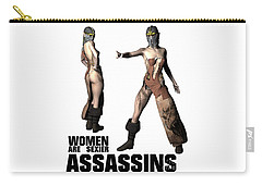 Women Are Sexier Assassins Carry-all Pouch
