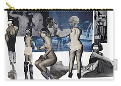 Women At The Movies Carry-all Pouch
