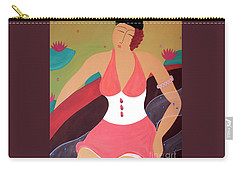 Women In A Boat Carry-all Pouch
