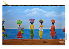 Women Of Africa  Carry-all Pouch