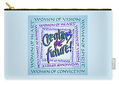 Women Of Vision Carry-all Pouch