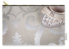 Carry-all Pouch featuring the photograph Women's Shoe by Andrey  Godyaykin