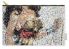 Wonder Woman Comics Mosaic Carry-all Pouch by Paul Van Scott