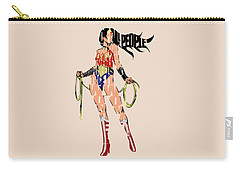 Superheroes Digital Art Carry-All Pouches