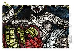 Wonder Woman Actress Mosaic Carry-all Pouch