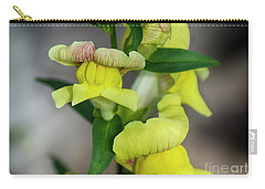 Wonderful Nature - Yellow Antirrhinum Carry-all Pouch