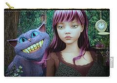 Wonderland Alice Carry-all Pouch by Jutta Maria Pusl