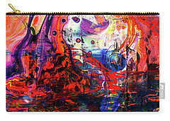 Wonderland - Colorful Abstract Art Painting Carry-all Pouch