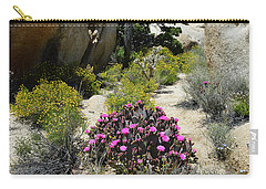 Wonderland - Joshua Tree National Park Carry-all Pouch by Glenn McCarthy Art and Photography