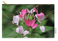Wonders Of Cleome Carry-all Pouch by Deborah  Crew-Johnson