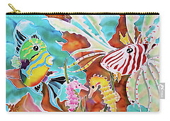 Wonders Of The Sea Carry-all Pouch