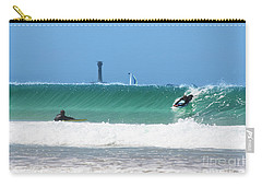 Carry-all Pouch featuring the photograph Wonderwall by Terri Waters