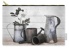 Carry-all Pouch featuring the photograph Wood And Patina by Robin-Lee Vieira