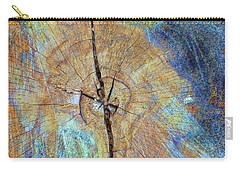 Wood Cracks Carry-all Pouch by Todd Breitling
