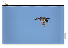 Carry-all Pouch featuring the photograph Wood Duck 2017-1 by Thomas Young