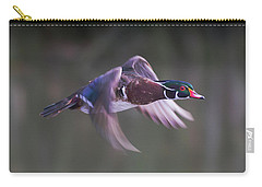 Wood Duck Flight Carry-all Pouch