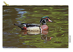 Carry-all Pouch featuring the photograph Wood Duck by Sandy Keeton
