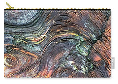 Wood Grain Carry-all Pouch