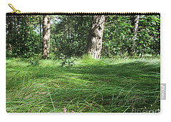 Wood In The Noordhollandse Duinreservaat Carry-all Pouch