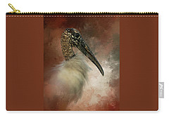 Wood Portrait  Carry-all Pouch