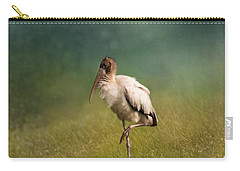 Wood Stork - Balancing Carry-all Pouch by Kim Hojnacki