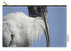 Wood Stork Portrail Carry-all Pouch