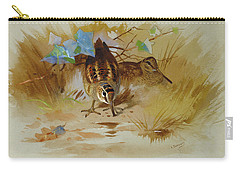 Woodcock In A Sandy Hollow By Thorburn Carry-all Pouch