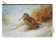 Woodcock In Winter By Thorburn Carry-all Pouch