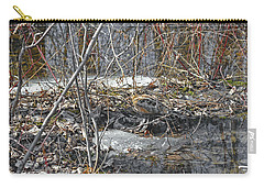 Woodcock's View Of The Forest Carry-all Pouch by Asbed Iskedjian